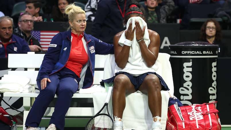 SPO-TEN-WTA-2020-FED-CUP---LATVIA-V-USA