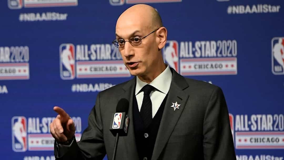 BKN-BKO-SPO-2020-NBA-ALL-STAR---NBA-COMMISSIONER-ADAM-SILVER-PRE