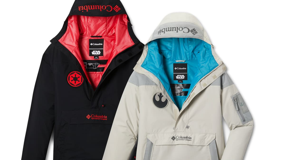 Star Wars X Columbia: jackets to keep you warm, whether you're on the light or dark side of the Force