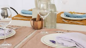 Image principale de l'article Maison Tess sort une collection de linge de table