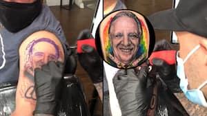 Image principale de l'article Il se fait tatouer François Legault sur le bras