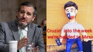 Image principale de l'article Cette piñata de Ted Cruz est parfaite