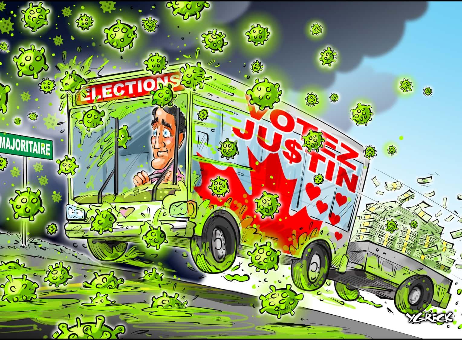 CARICATURES : politiques, judiciaires, sportives ... etc.    (suite 2) - Page 24 Trudeau_bus_copie58361500-aa77-43fe-b681-686708831d1a_ORIGINAL