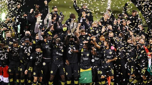 Le Crew remporte la Coupe MLS!