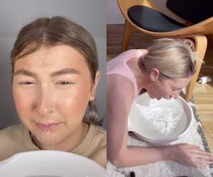 Image principale de l'article Pourquoi plonger son visage maquillé sous l'eau?