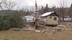 [EN IMAGES] Inondations à Sainte-Brigitte-de-Laval: dur retour à la maison pour les riverains de l'île Enchanteresse