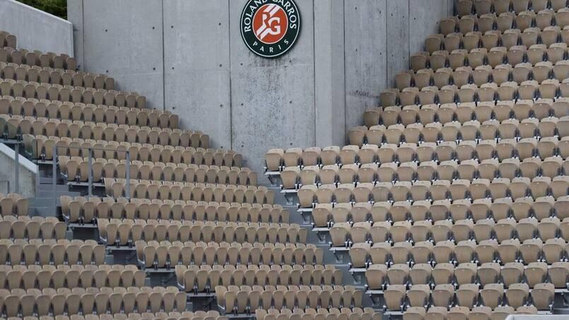 Capacité réduite à Roland-Garros