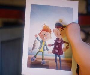 Une scène du film d'animation québécois Félix et le trésor de Morgäa