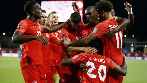 Victoire sans appel du Canada contre le Salvador