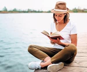 Bloc lecture livre livres quai chapeau
