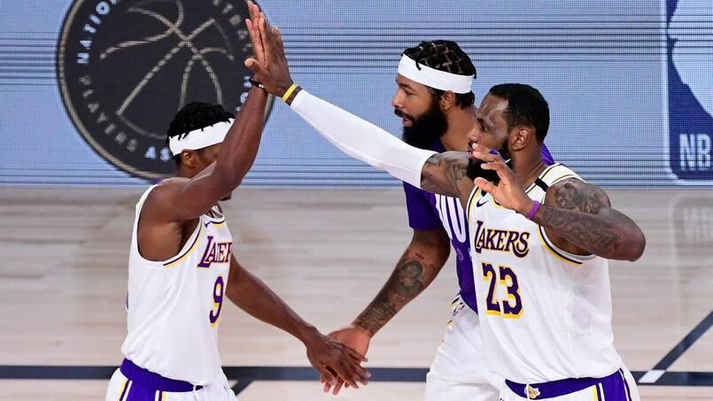Les Lakers champions, 4e titre pour LeBron