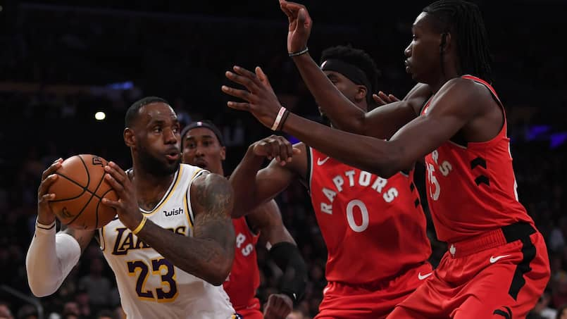 BKN-BKO-SPO-TORONTO-RAPTORS-V-LOS-ANGELES-LAKERS