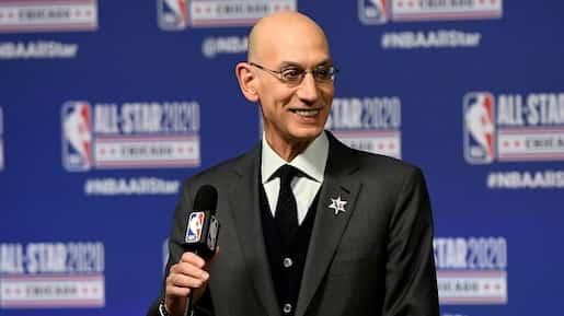 BKN-BKO-SPO-2020-NBA-ALL-STAR---NBA-COMMISSIONER-ADAM-SILVER-PRE