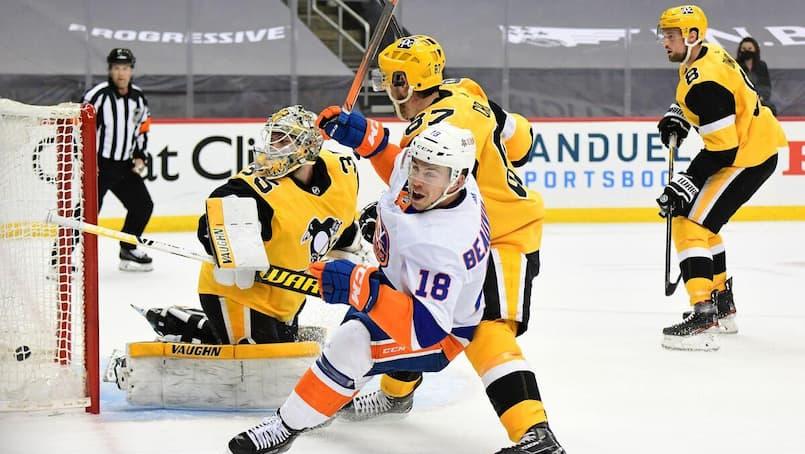 Tristan Jarry coule les Penguins