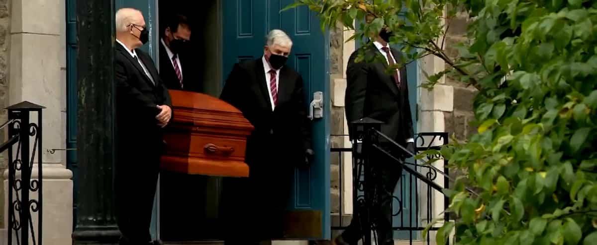 Les funérailles d'Aline Chrétien célébrées mardi