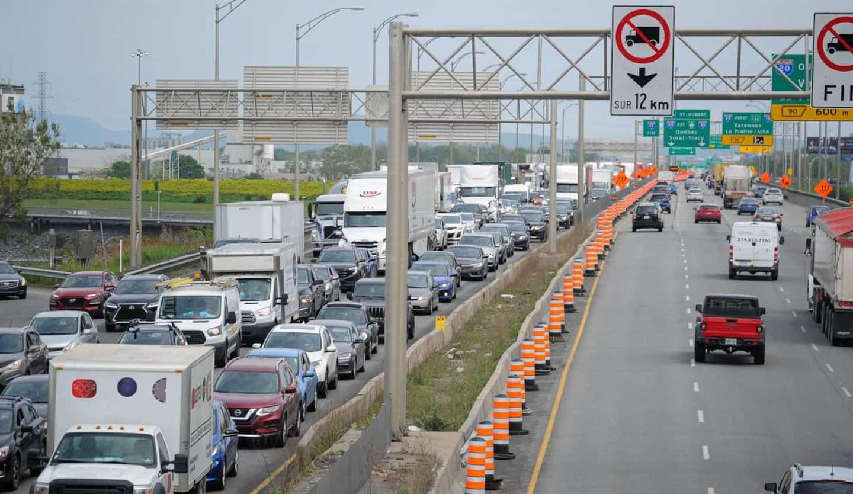Le tunnel La Fontaine complètement fermé vers Montréal ce week-end