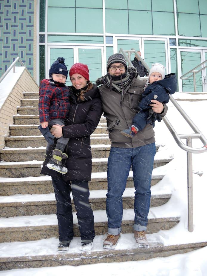 Pour la famille Pélissier-Riols, après la tragédie, il était important de venir visiter le centre islamique du Québec.