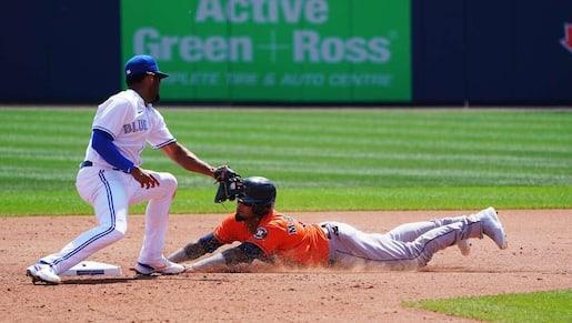 Les Astros frappent tôt et vainquent les Blue Jays