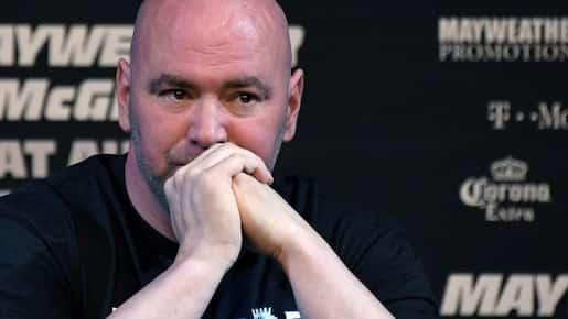 Dana White n'aime pas les manières de Conor McGregor
