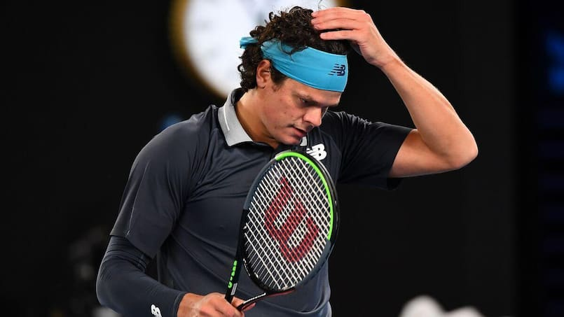 Raonic sans réponse face à Djokovic