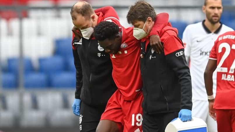 Une blessure horrible pour Alphonso Davies