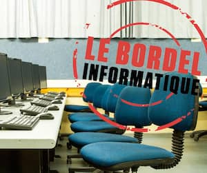 Bloc bordel informatique