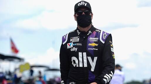 Tout un choc en NASCAR