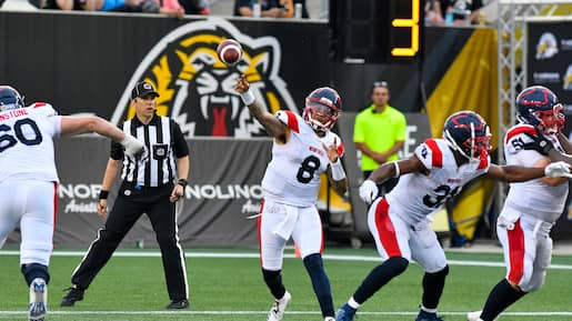 SPO-Alouettes vs Hamilton Tiger-Cats