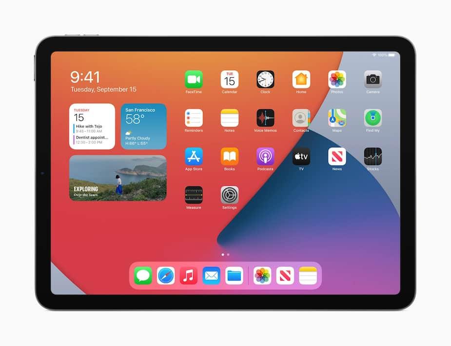 Tablette iPad Air 2020