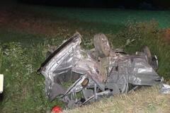 [PHOTOS] Honfleur: 5 jeunes blessés dans une violente embardée
