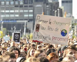 CANADA-CLIMATE-MARCH-HELD-IN-MONTREAL,-CANADA