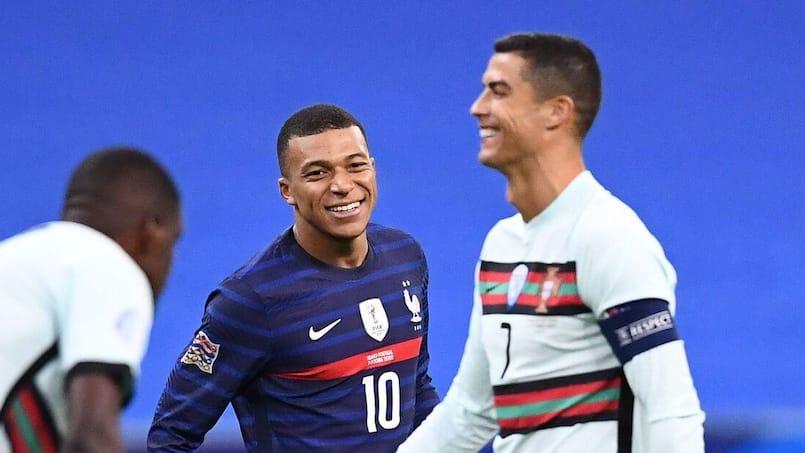Kylian Mbappé et Cristiano Ronaldo font grimper les enchères
