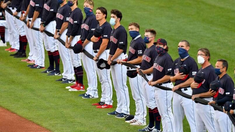 Les joueurs des Indians protestent contre leur nom