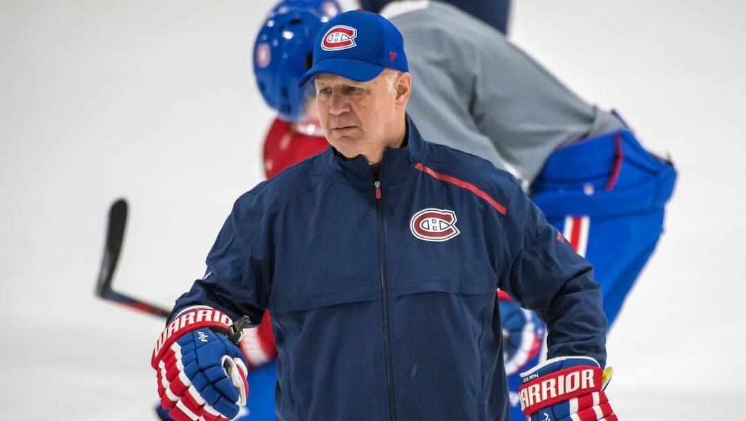 Canadiens de Montréal entrainement