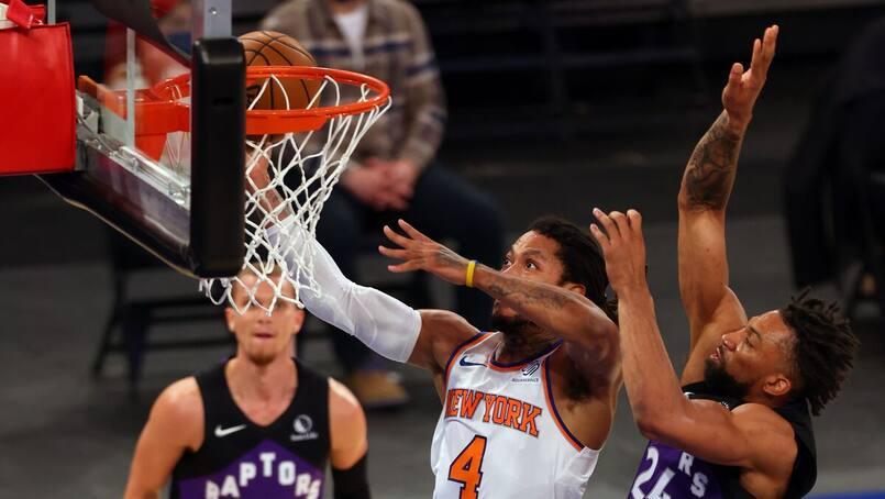 Les Raptors sont la proie des Knicks