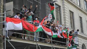 Image principale de l'article Plusieurs milliers de personnes réunies à Montréal