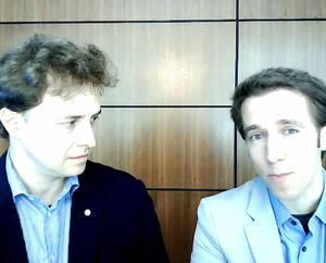 Les frères Marc et Craig (à droite) Kielburger, fondateurs de WE Charity, ont témoigné cette semaine à Ottawa.