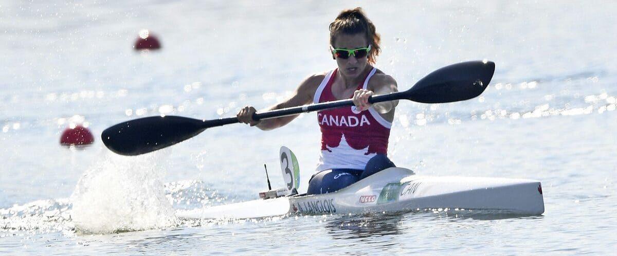 Canoë-kayak: Andréanne Langlois a trimé dur pour se rendre aux Jeux de Tokyo