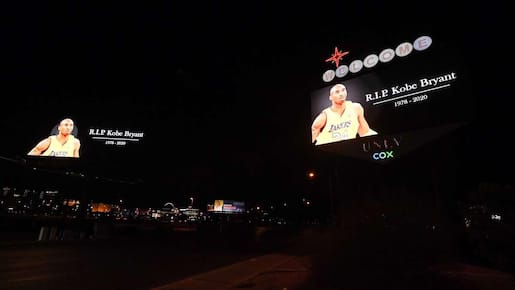 Kobe et Gianna Bryant seront honorés au match des étoiles de la NBA