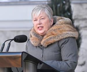 La ministre des Pêches et des Océans du Canada, Bernadette Jordan