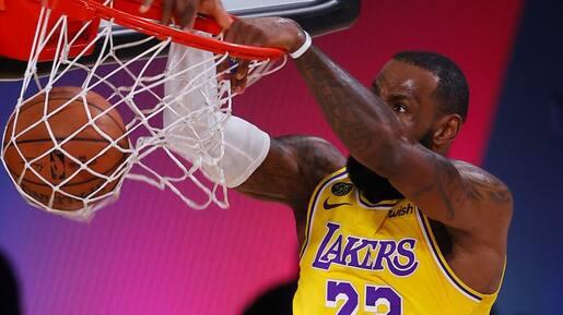 Performance convaincante des Lakers en ouverture