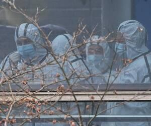 Des membres de l'Organisation mondiale de la Santé enquêtent actuellement sur l'origine de la COVID-19 à Wuhan, en Chine.