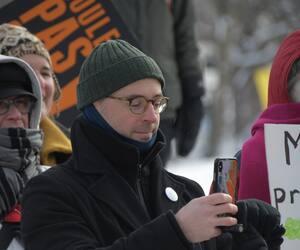 Le député de Québec solidaire, Sol Zanetti