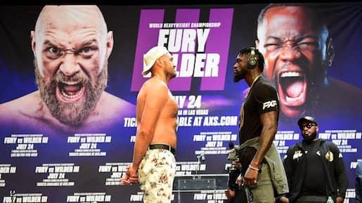 Le combat Fury-Wilder repoussé
