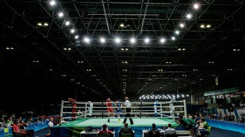 Les galas de boxe autorisés