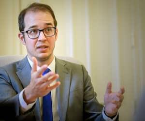 Le député solidaire Alexandre Leduc