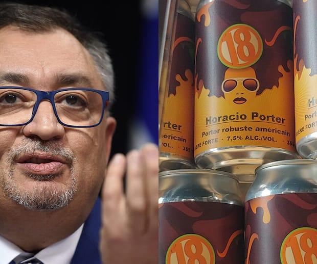 Image principale de l'article Il existe une bière en l'honneur d'Horacio Arruda