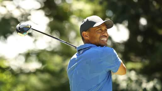 Une bonne première ronde pour Tiger Woods
