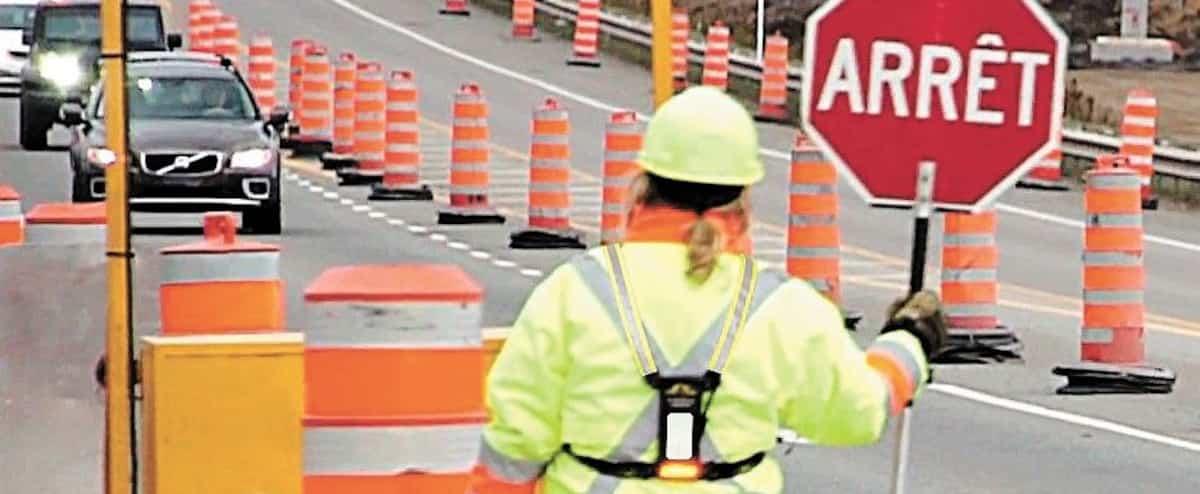 «Les automobilistes veulent nous rentrer dedans», dit le président de l'Association des signaleurs routiers