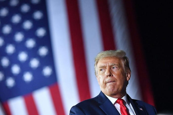 Le président américain, Donald Trump